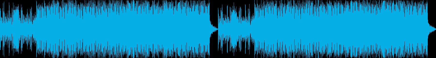 かわいいベルうきうきポップな日常ループbの再生済みの波形