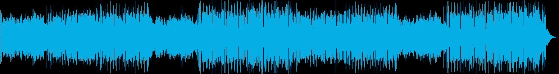 KPOP・スタイリッシュなEDMファンクの再生済みの波形