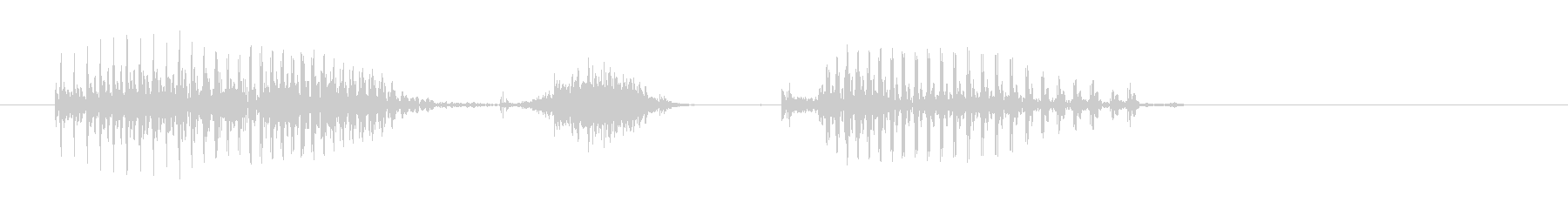 Aichi prefecture's unreproduced waveform