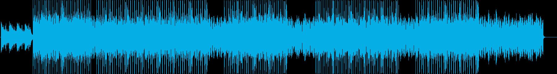 哀愁漂う切ないR&Bミッドテンポトラックの再生済みの波形