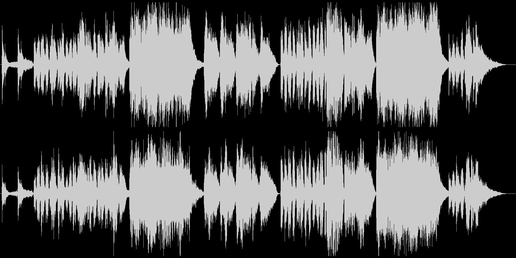 6月のチェロの未再生の波形