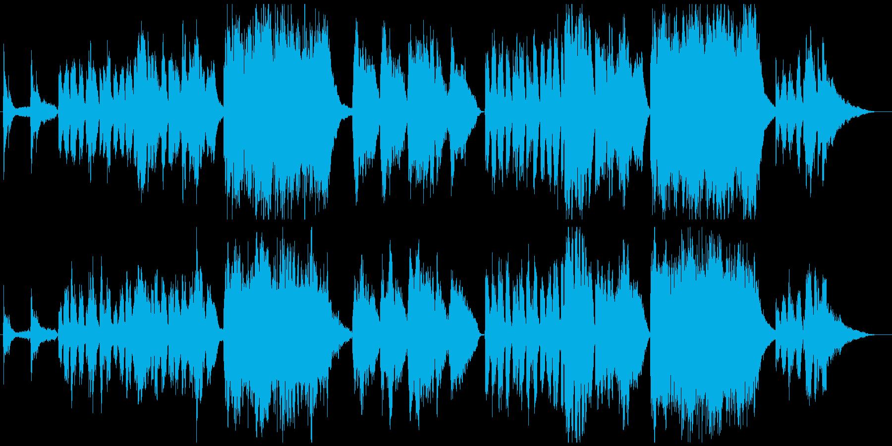 6月のチェロの再生済みの波形