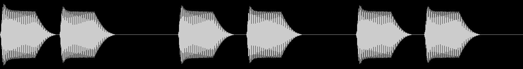 往年のRPG風 セリフ・吹き出し音 12の未再生の波形