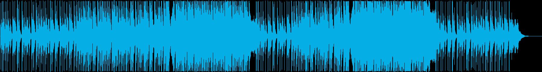 ほのぼの優しい和風バラード・三味線尺八箏の再生済みの波形