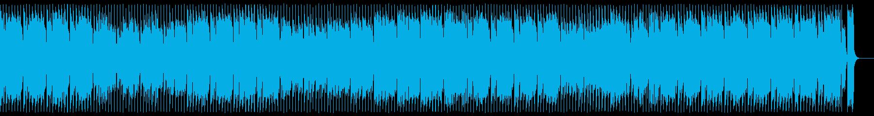 キャッチーで盛り上がるファンクの再生済みの波形