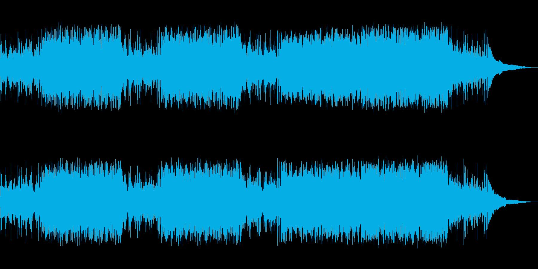 情熱が伝わる中南米系ワールドミュージックの再生済みの波形