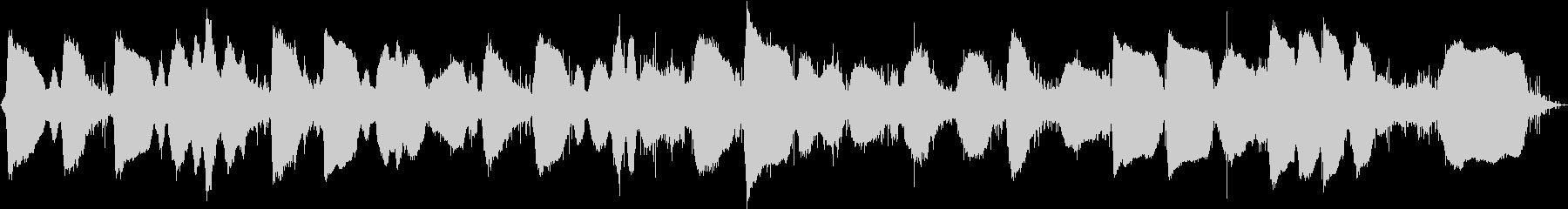 静かな波音 エレキギターバイオリン奏法 の未再生の波形