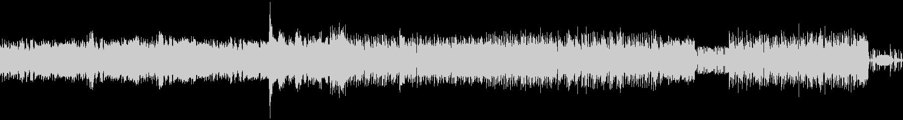 ヘヴィ、グイグイ、パワフルなメタル交響曲の未再生の波形