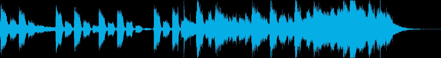 おしゃれコーポレートコマーシャルEDMcの再生済みの波形