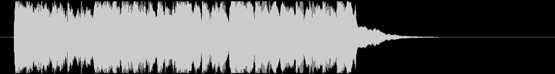 シンプルで落ち着きあるジングル、ロゴ。の未再生の波形