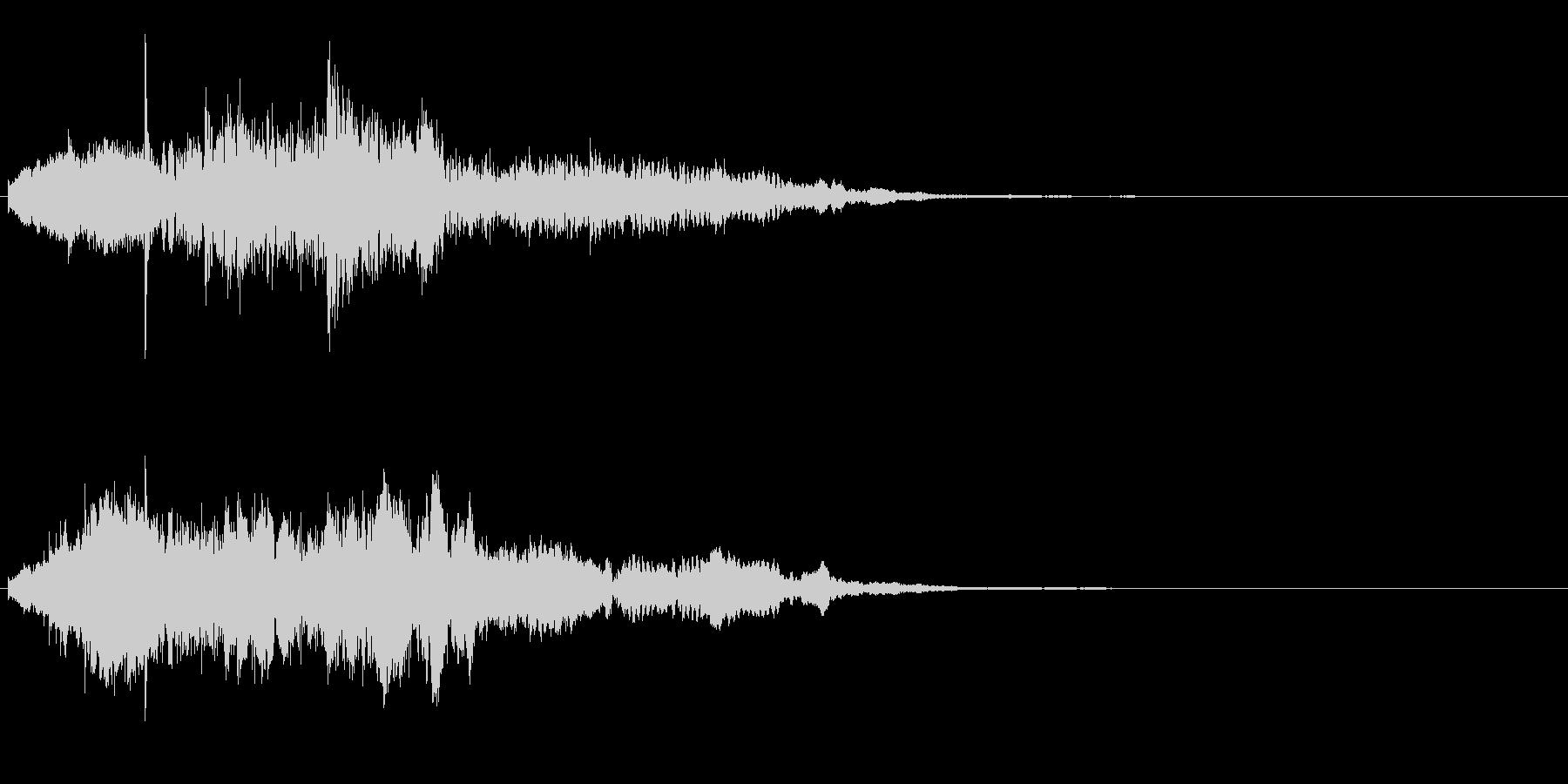 アイキャッチ 22の未再生の波形
