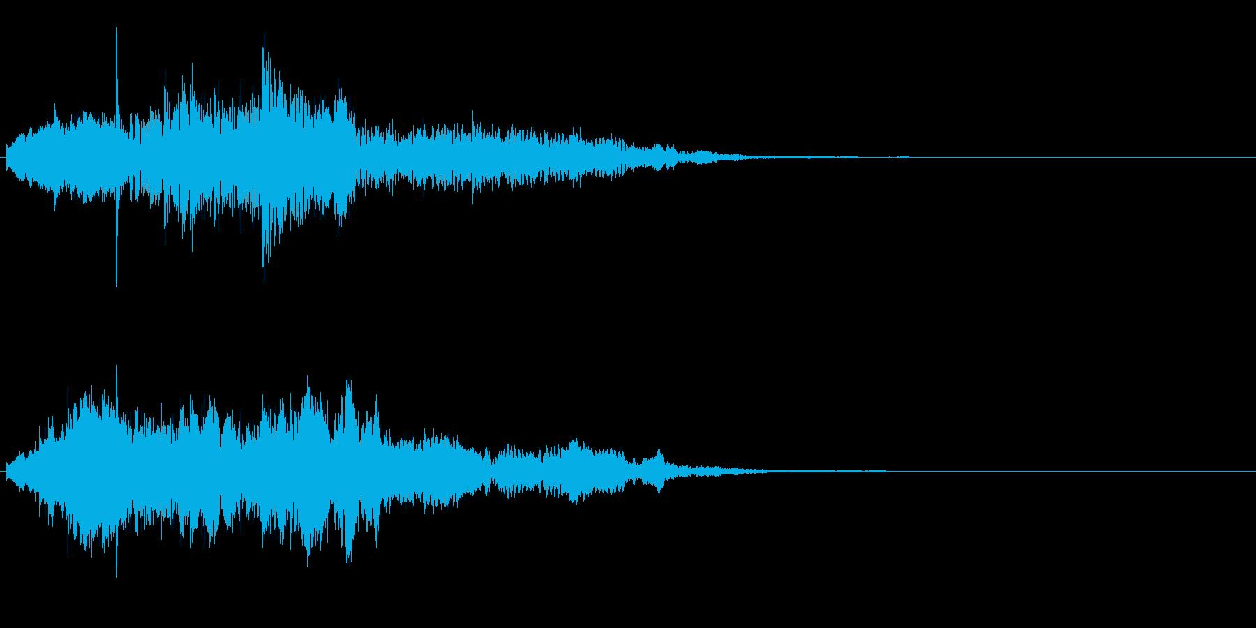 アイキャッチ 22の再生済みの波形