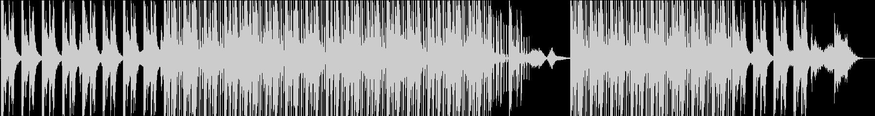 周囲のチルアウト溝。シンコペートさ...の未再生の波形