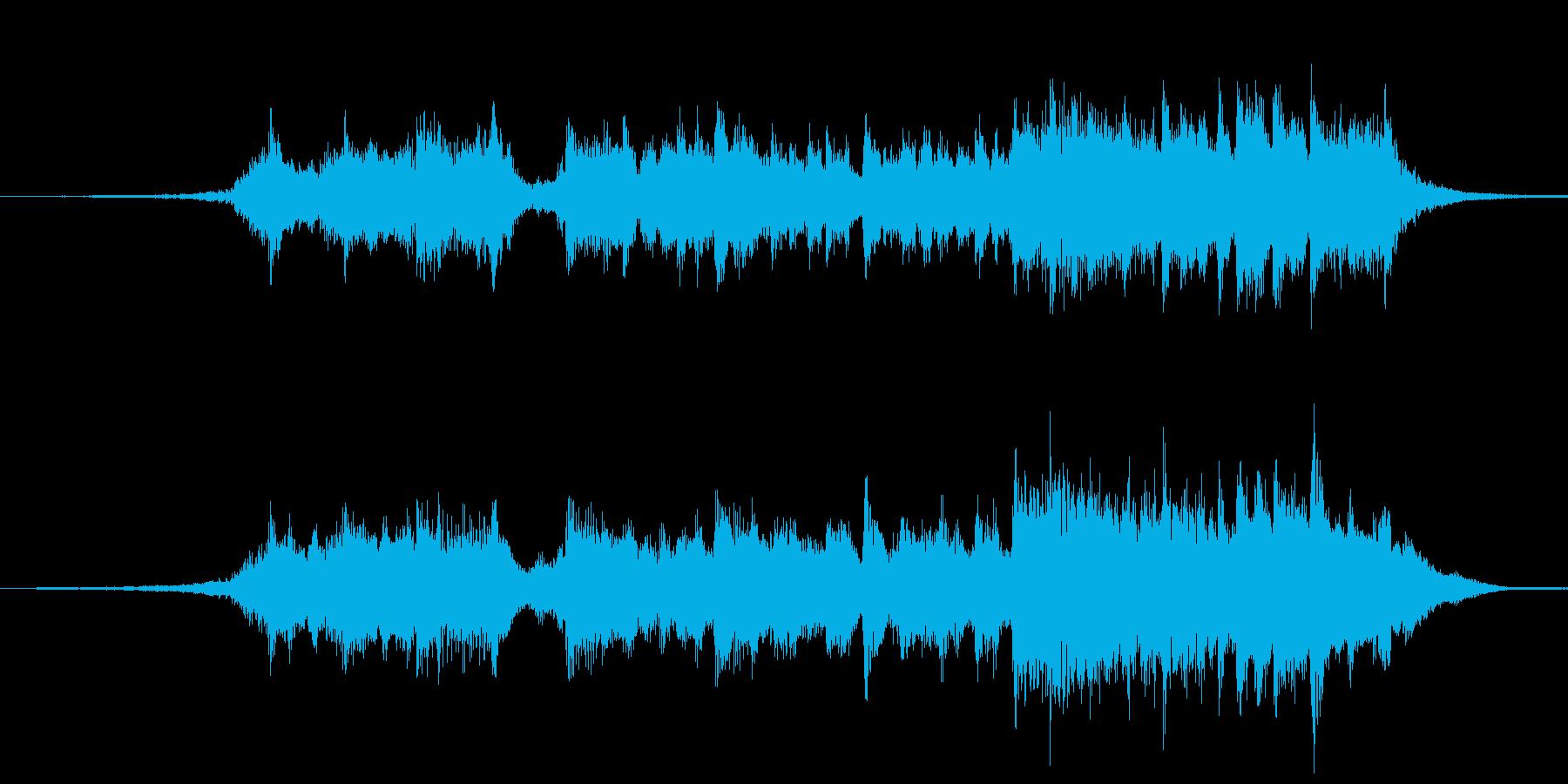 転換に最適なストリングによるジングルの再生済みの波形