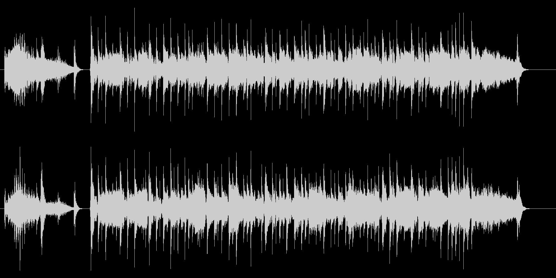 純和風のさくらさくら(イントロ有の未再生の波形