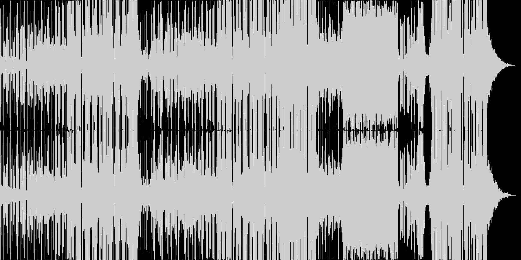 ノスタルジーな物語調エレクトロポップの未再生の波形