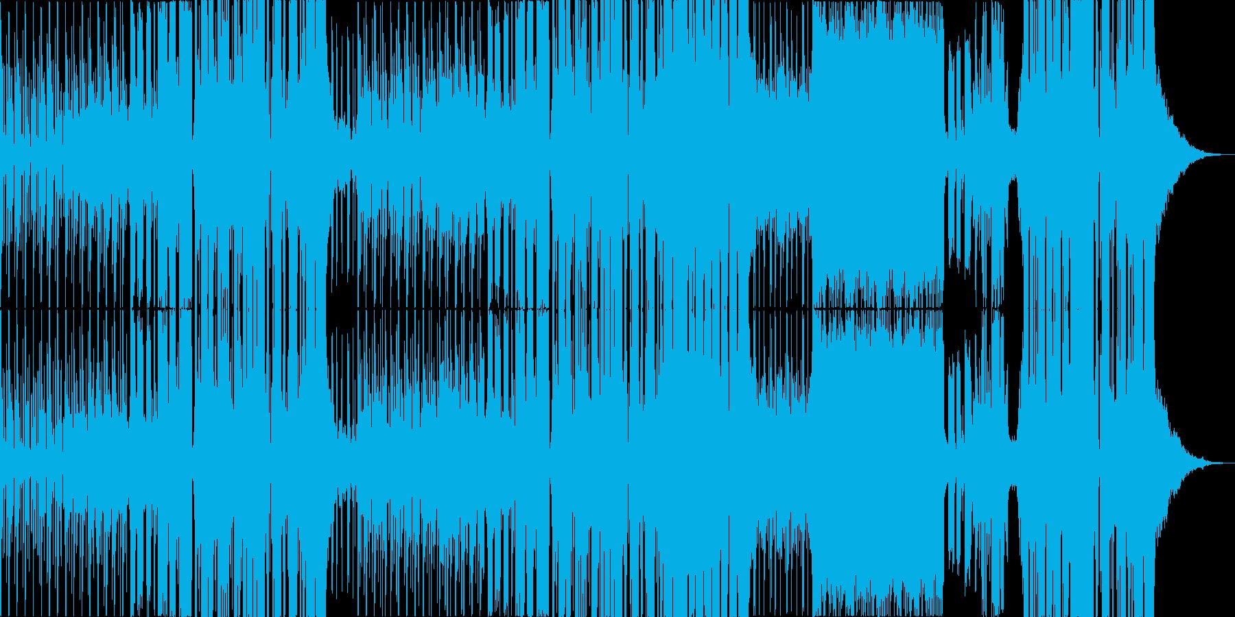 ノスタルジーな物語調エレクトロポップの再生済みの波形