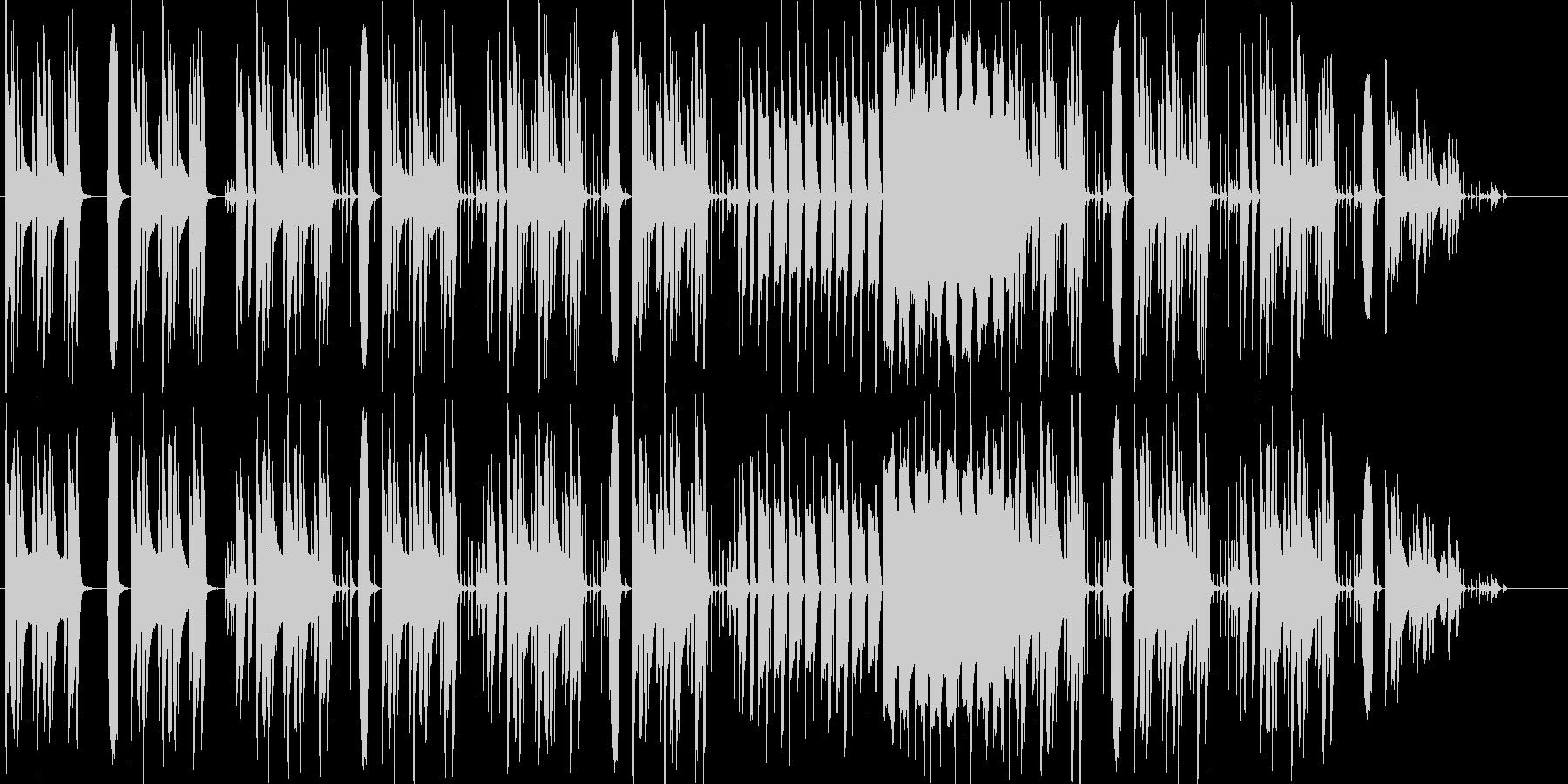リコーダーなどほのぼの日常系BGMの未再生の波形