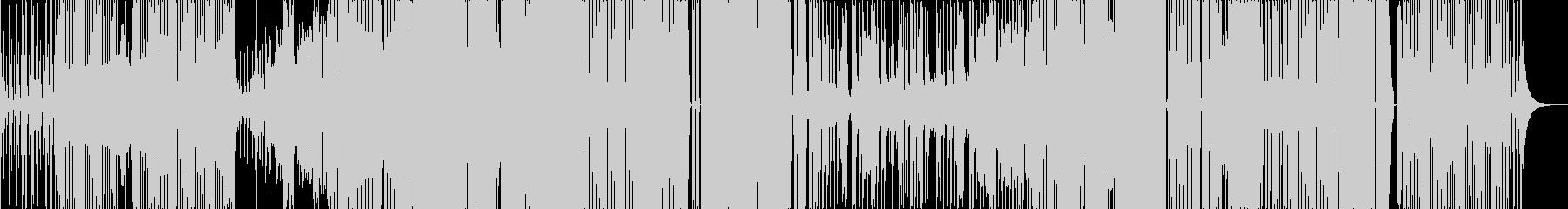 和風なベースハウスの未再生の波形