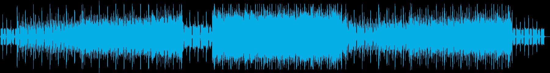 企業VP・CM 躍動感のあるロックの再生済みの波形
