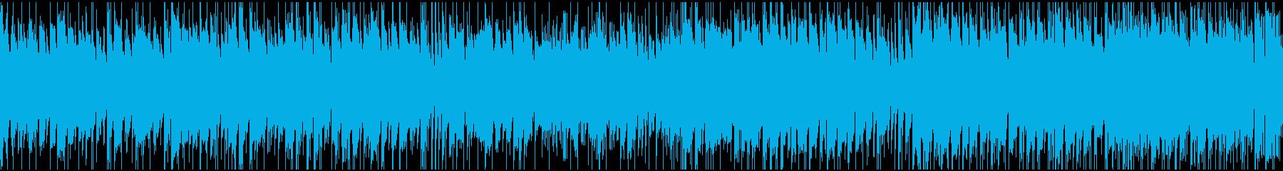 爽やかなアコギポップ・ループ仕様の再生済みの波形