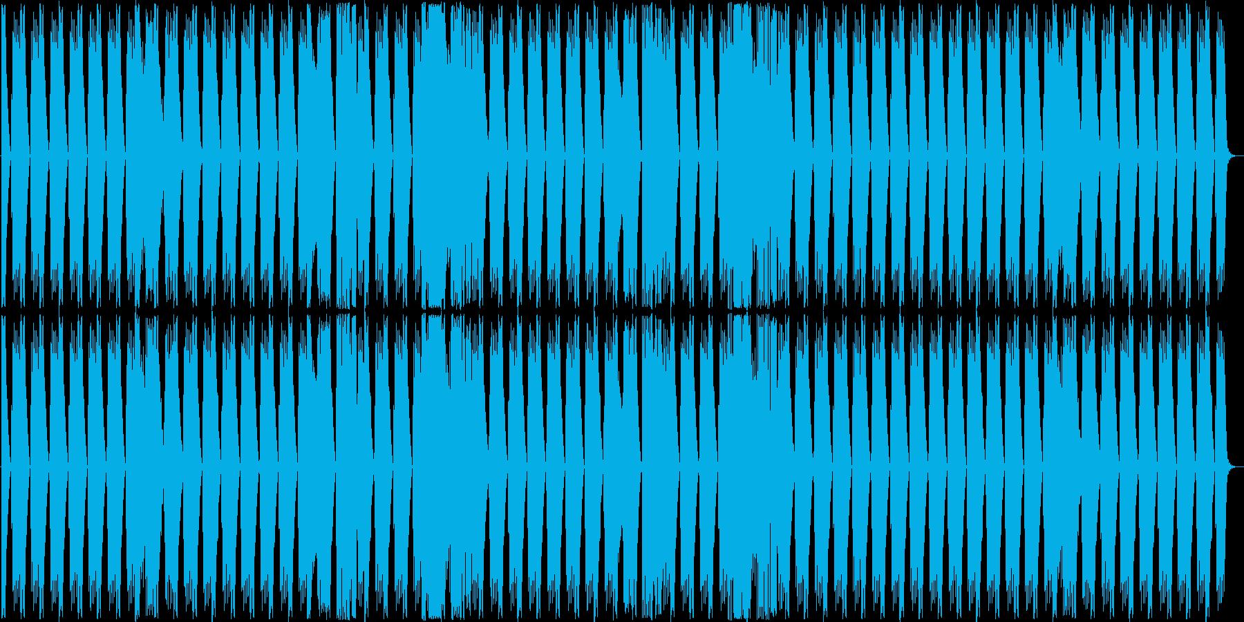 殆どリズムだけの短い曲ですの再生済みの波形