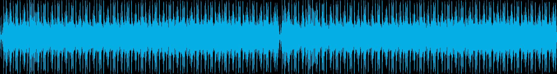 神秘的で雰囲気の和風BGMの再生済みの波形