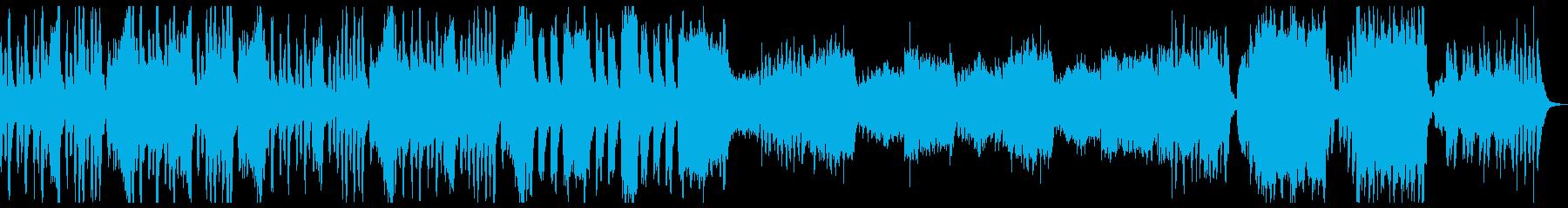 ややコミカルなハロウィンBGMの再生済みの波形