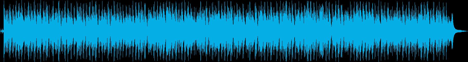 のんびり、ほのぼの、昼下がりのボサノバの再生済みの波形