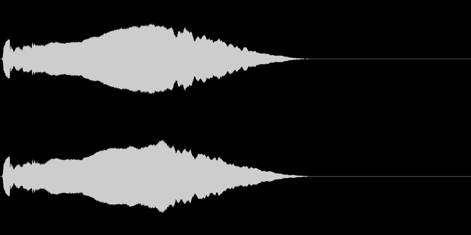 尺八 生演奏 古典風 残響音有 #1の未再生の波形