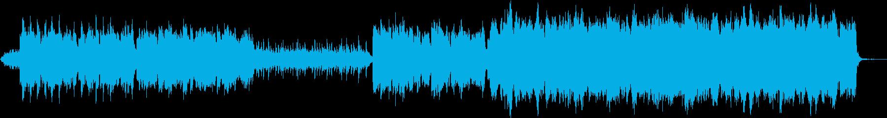 ケルトの笛で「グリーンスリーブス」の再生済みの波形
