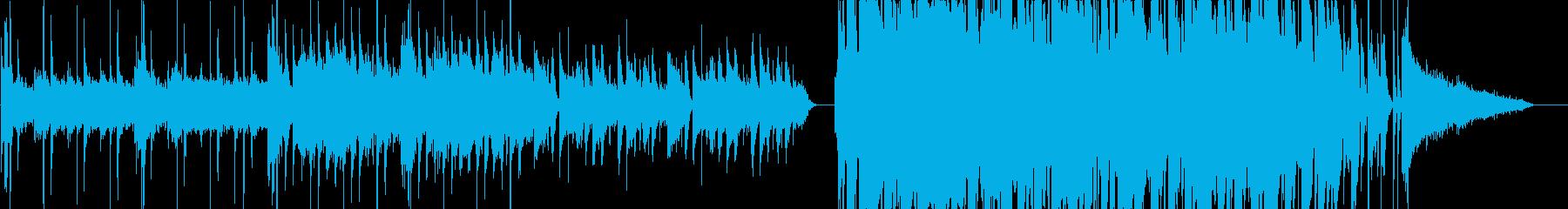 CMの再生済みの波形