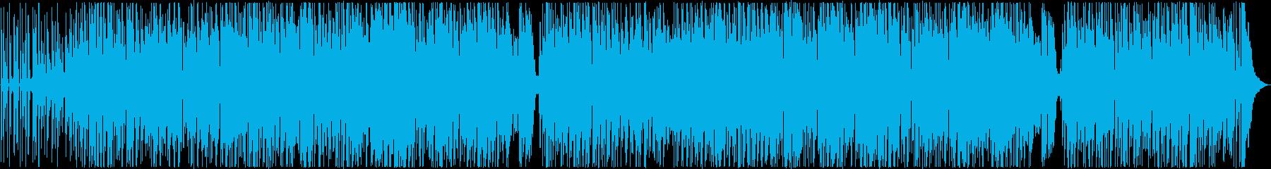 おしゃれで爽やかなボサノバの再生済みの波形