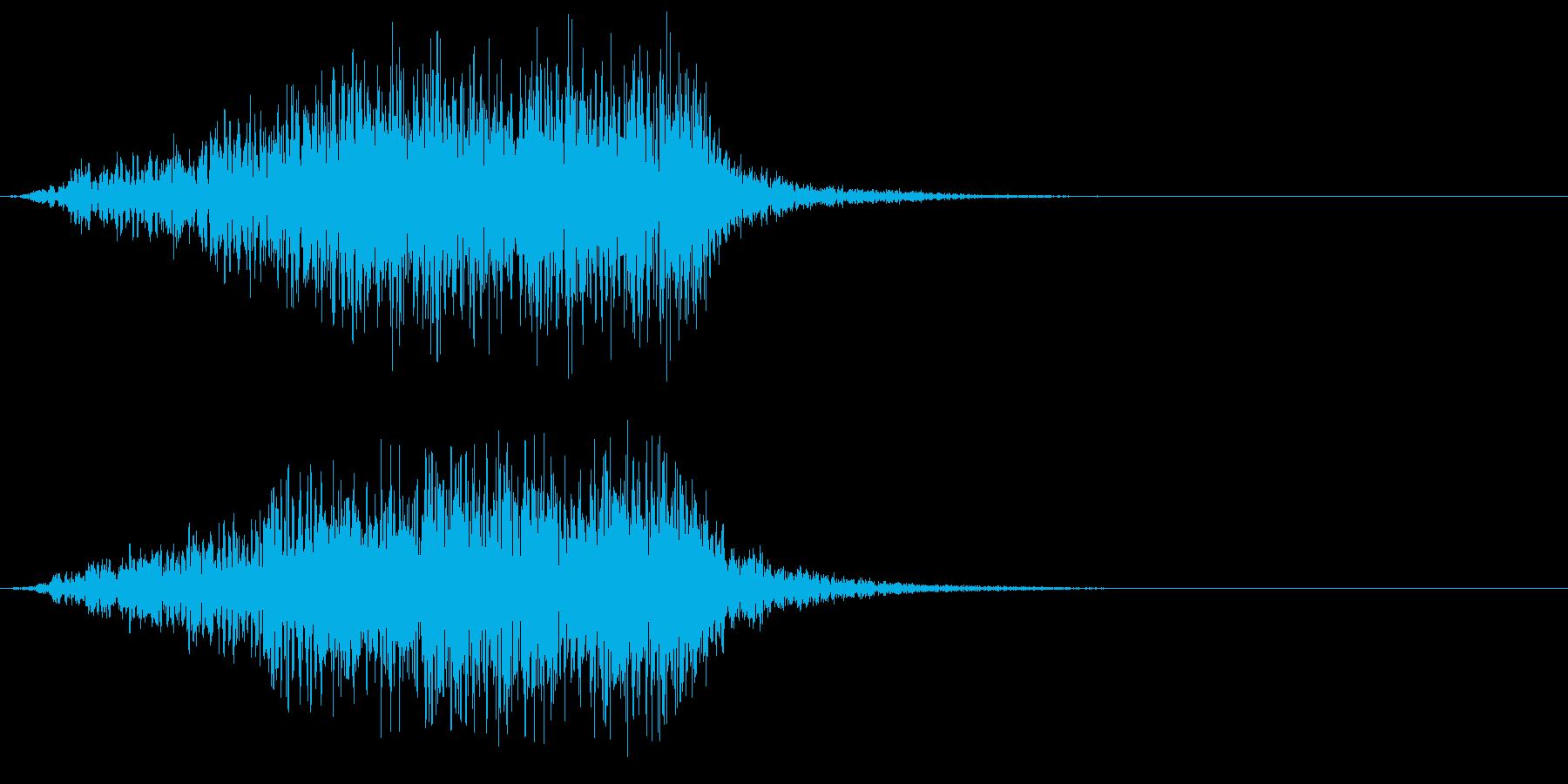 ホラー 近く 接近 恐怖 金属音 09の再生済みの波形