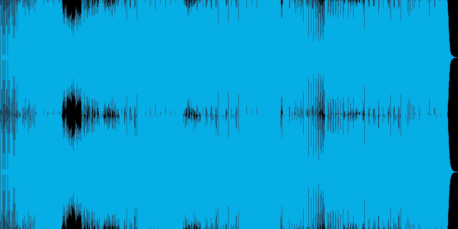 ダンス。エレクトロ。シーケンサー。...の再生済みの波形