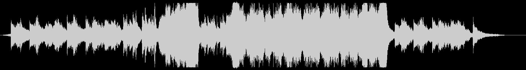 ファンタジーRPG風テーマ曲の未再生の波形