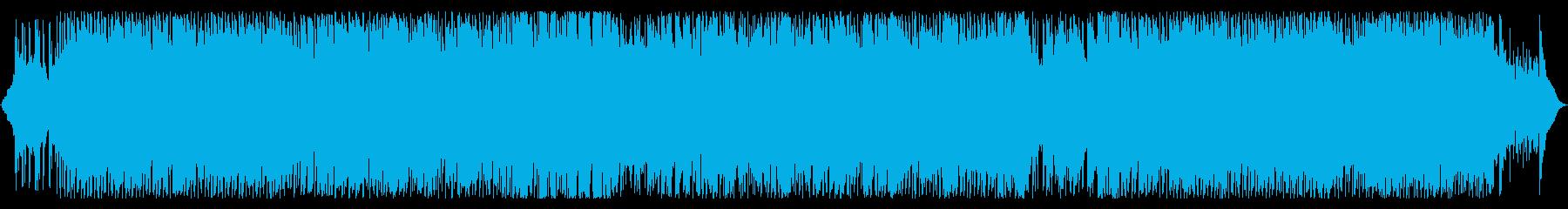 少しの不安感と緊張感のあるインストの再生済みの波形
