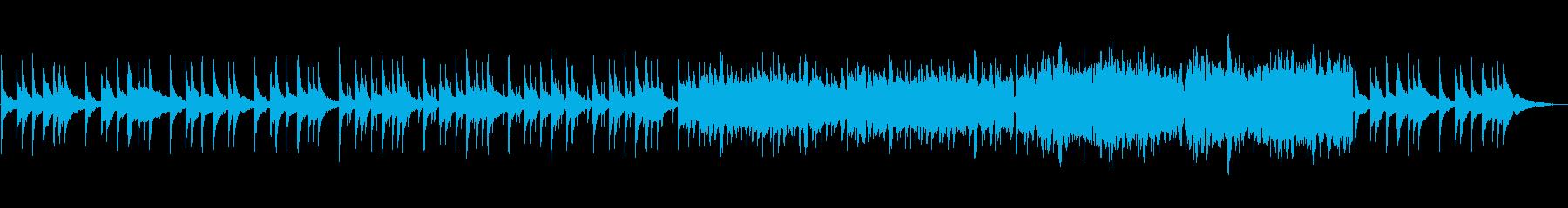 老舗旅館の和風音楽の再生済みの波形