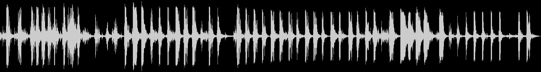 スラムダウン金属トラックリグの未再生の波形