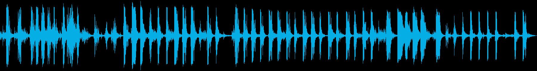 スラムダウン金属トラックリグの再生済みの波形