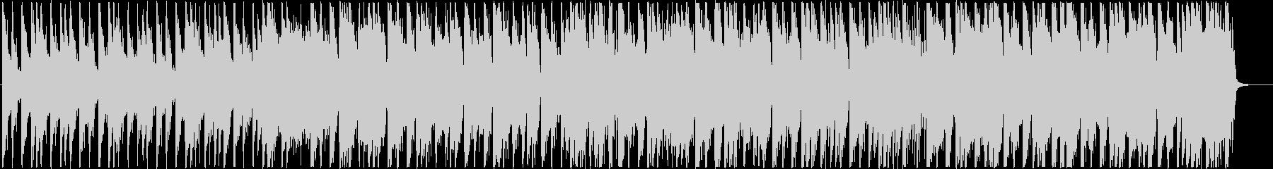 切ないR&B調の4つ打ちシティポップの未再生の波形