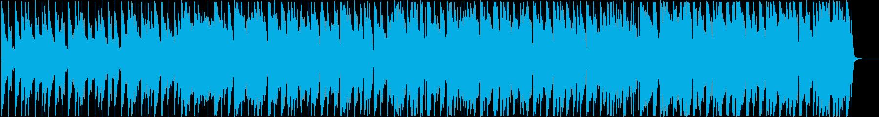 切ないR&B調の4つ打ちシティポップの再生済みの波形