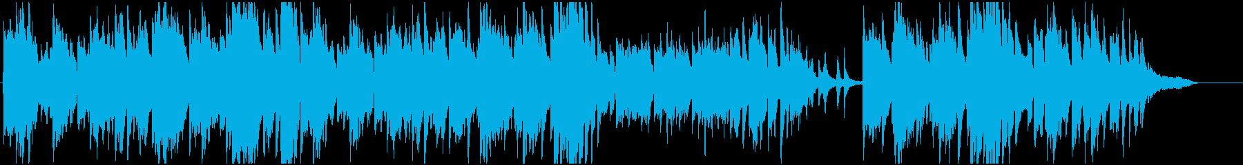 ピアノソロ、切ないの再生済みの波形