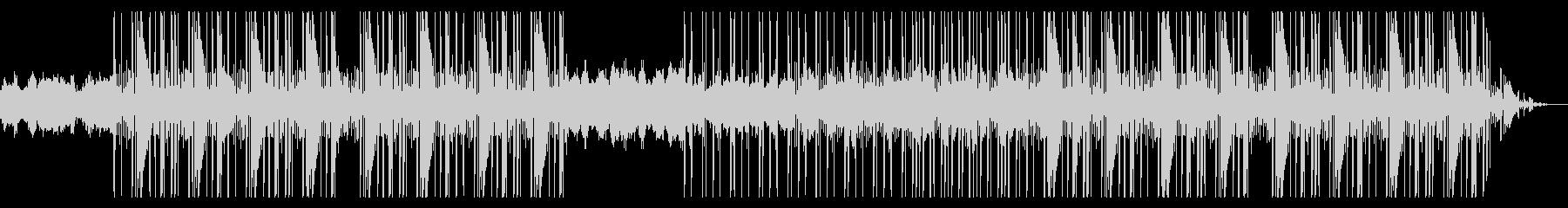 クリスタル 透明感 重低音 ヒップホップの未再生の波形