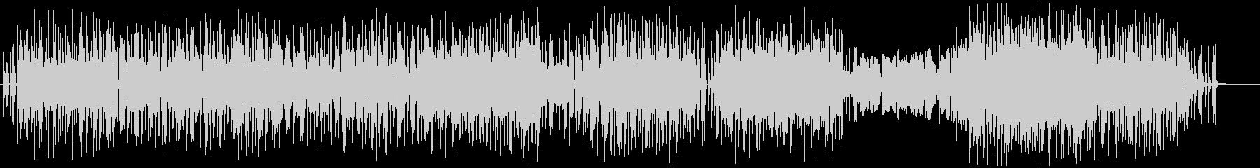 バンドサウンドによるゆったりしたポップスの未再生の波形