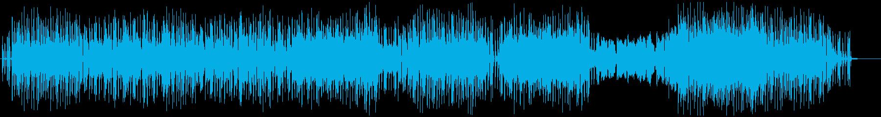 バンドサウンドによるゆったりしたポップスの再生済みの波形