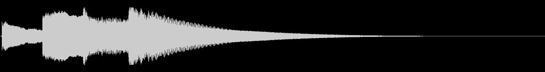 アナウンス後 チャイム-5_rev-1の未再生の波形