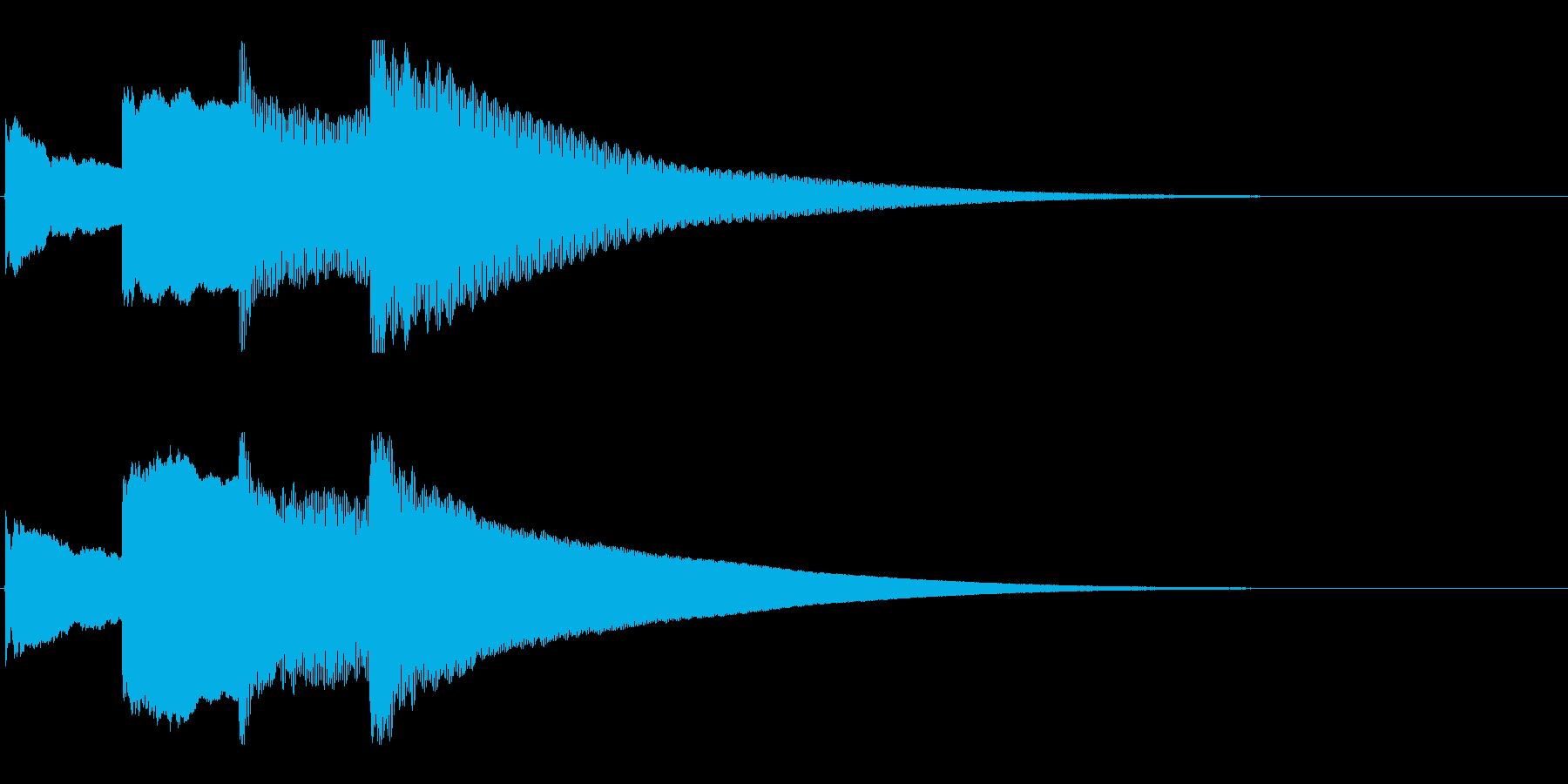 アナウンス後 チャイム-5_rev-1の再生済みの波形