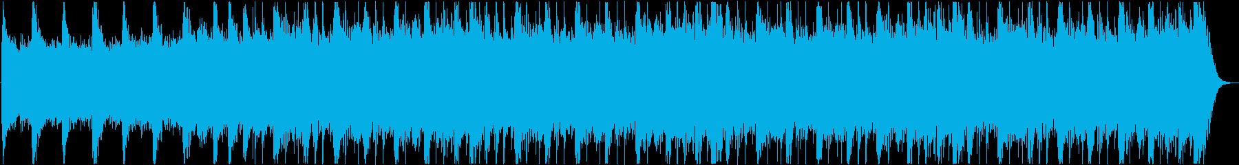 繰り返し訪れる不安をイメージしたBGMの再生済みの波形