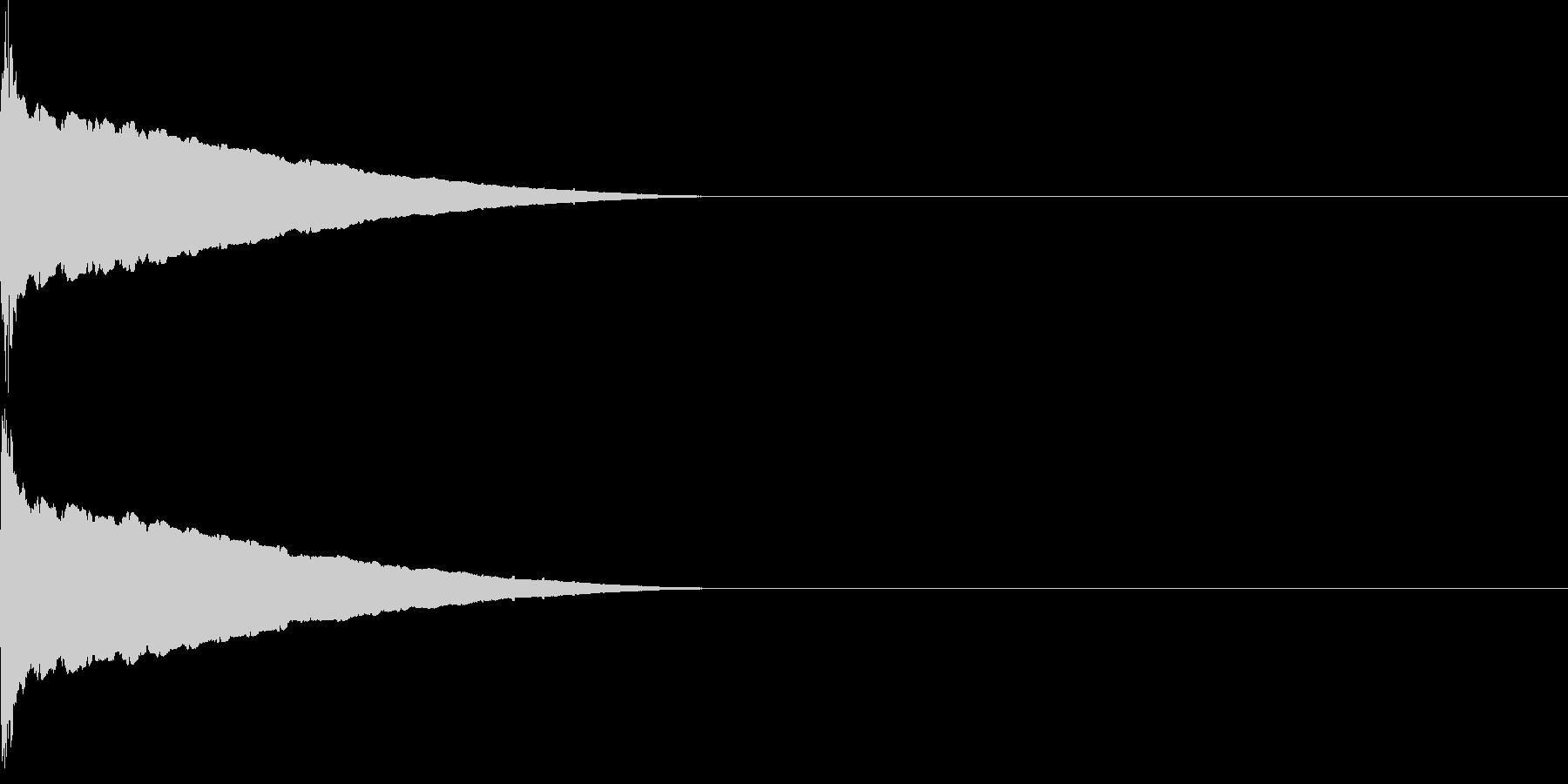 ピューン(低下_連続)の未再生の波形